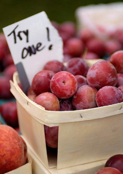 Fruit plums